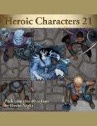 Devin Token Pack 108 - Heroic Characters 21