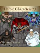 Devin Token Pack 112 - Heroic Characters 23
