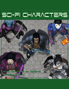 Devin Token Pack 119 - Sci-fi Characters
