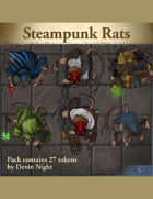 Devin Token Pack 131 - Steampunk Rats