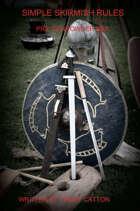 Simple Skirmish Rules Pre Gunpowder Era