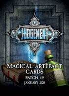 Judgement Magical Artefacts - Patch 7