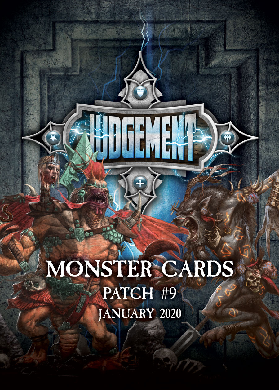 Judgement Monsters - Patch 9