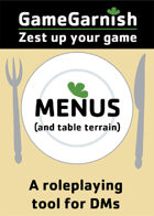 GameGarnish Menus