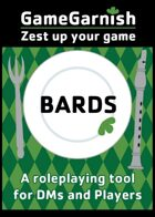 GameGarnish Bards