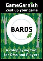 GameGarnish Bards