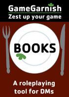 GameGarnish Books