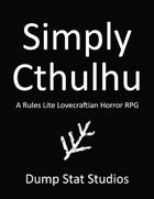 Simply Cthulhu