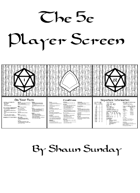 5E Player Screen