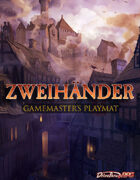 ZWEIHANDER Grim & Perilous RPG: Gamemaster Playmat