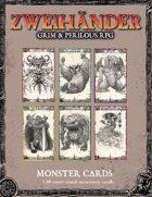 ZWEIHANDER Grim & Perilous RPG: Monster Cards