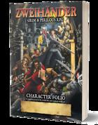 Character Folio - ZWEIHÄNDER Grim & Perilous RPG