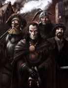 Art Pack: Zweihander Wallpaper (Grim & Perilous Library) - Templates for #ZweihanderRPG