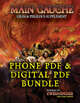 MAIN GAUCHE: Supplement for Zweihander RPG (Phone PDF + Digital PDF)