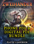 ZWEIHANDER RPG: Player's Handbook (Phone PDF + Digital PDF)