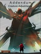 Addendum : Creature Adjustments