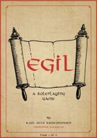 Egil: A solo RPG of brutal viking poetry