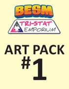 BESM Art Pack #1 (Tri-Stat Emporium)