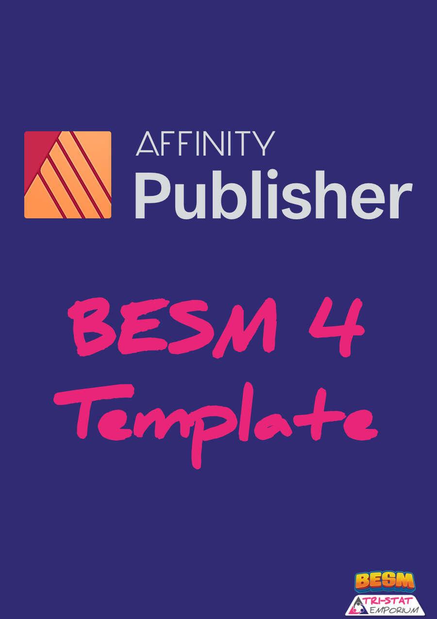 Besm4 Affinity Publisher Templates Dyskami Publishing Company