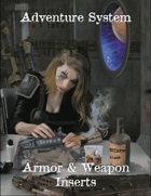 Adventure System - Armor & Weapon Inserts