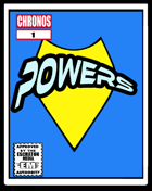 CHRONOS: Powers Support Deck