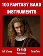 100 Bard Instruments (Fantasy)