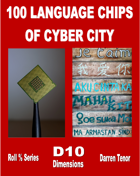 100 Language Chips of Cyber City