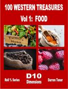 100 Western Treasures - Vol 1: Food