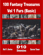 100 Fantasy Treasures - Vol 1 Furs (Basic)