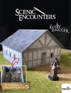 Scenic Encounters papercraft: The Rusty Dagger