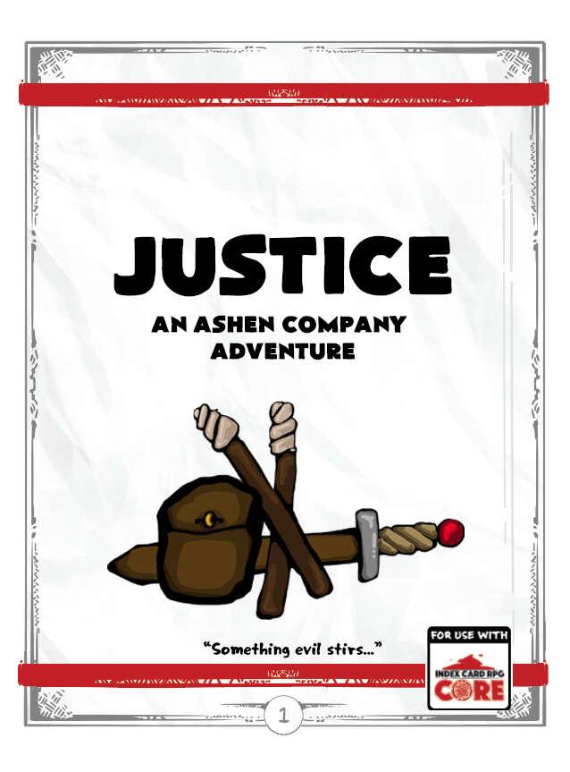 Justice: An Ashen Company Adventure - Big Grump Games | DriveThruRPG com