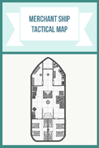 Merchant Ship Tactical Map