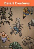 Jans Token Pack 002 - Desert Creatures