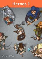 Jans Token Pack 003 - Heroes 1