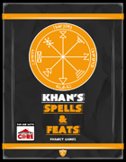 Khan's Spells & Feats for ICRPG