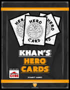 Khan's Hero Cards for ICRPG