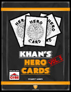 Khan's Hero Cards for ICRPG Vol. 2