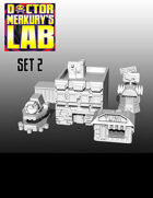 15mm Cyberpunk Scifi City Terrain Pack 2 3D Files