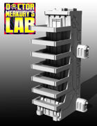 15mm Cyberpunk Scifi City High End Habs Terrain Pack 5 3D Files