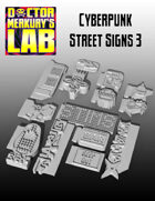 15mm Cyberpunk Scifi City Accessory Pack 3 3D Files