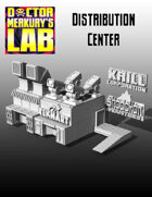15mm Cyberpunk Scifi City Distribution Center Terrain Pack  3D Files