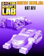 28mm Scale KAT AFV Tank