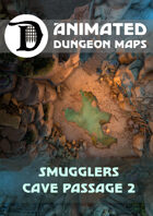 Animated Dungeon Maps: Smugglers Cave Passage 2