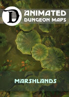 Animated Dungeon Maps: Marshlands