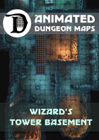 Animated Dungeon Maps: Wizard's Tower Basement