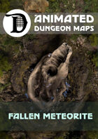 Animated Dungeon Maps: Fallen Meteorite