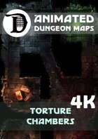 Animated Dungeon Maps: Torture Chambers 4k