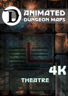 Animated Dungeon Maps: Theatre 4k