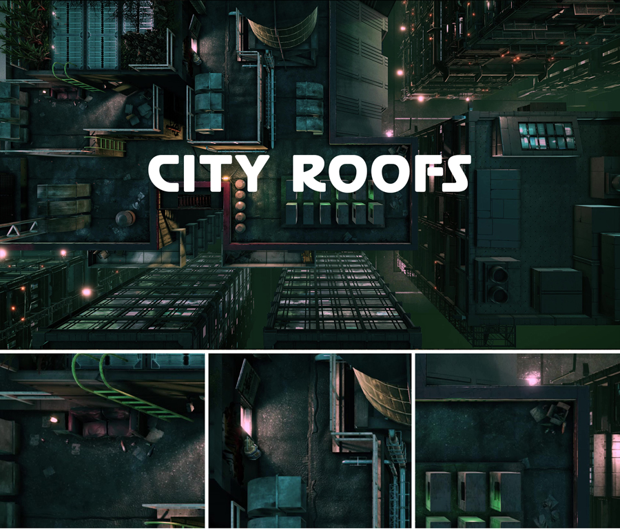 CITY-ROOFS
