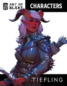 Character Stock Art - Tiefling - Color